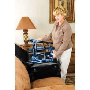 Carex Explorer Folding Walker with Wheels