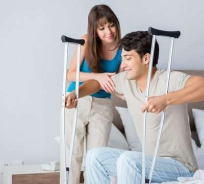 How to Walk Safely with Crutches