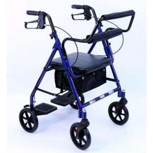 Karman R-4602-T Two-in-One Rollator and Transport Chair