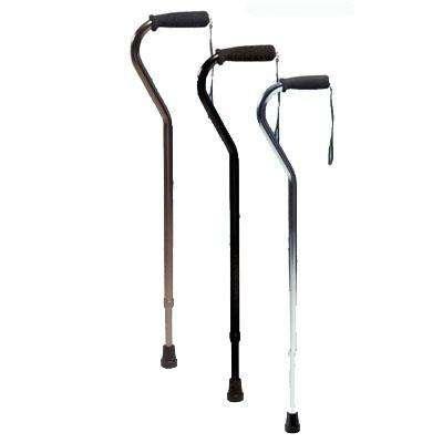 Graham Field Adjustable Offset Canes – Nitrile Grip