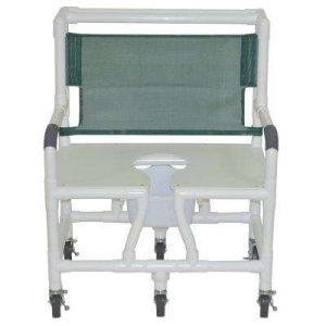 30″ Bariatric Commode Bath Chair