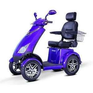E Wheels EW-72 4-Wheel Heavy Duty Mobility Scooter