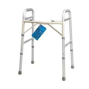 Carex Dual Button Extra-Wide Adjustable Walker