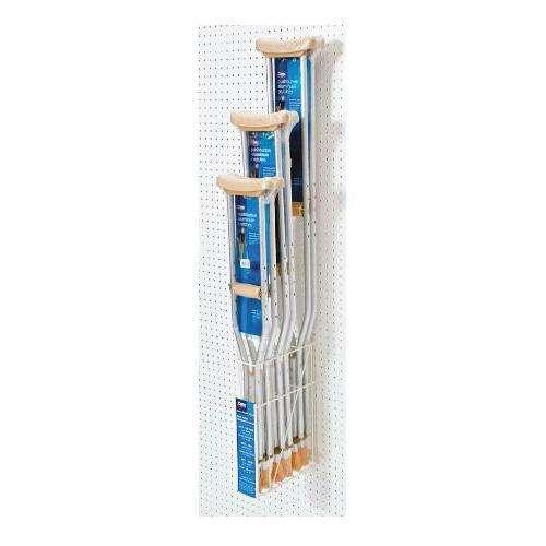 Carex Peggable Crutch Rack
