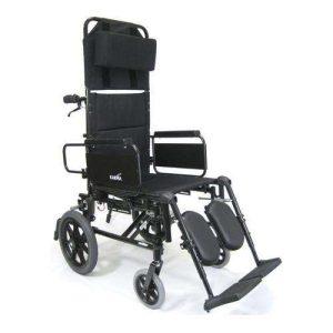 KM-5000 Self Propel Lightweight Reclining Transport Manual Wheelchair