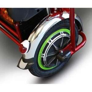 EW-02 Bariatric Folding 3-Wheel Mobility Scooter