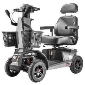 Free Rider FR1 Heavy-Duty 4-Wheel Mobility Scooter