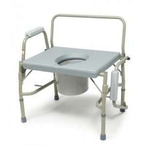 Graham Field Lumex Imperial Collection 3-in-1 Steel Drop Arm Commode