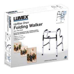 Graham Field Lumex UpRise Onyx Single Release Folding Walker