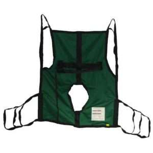 Joerns Hoyer One Piece Commode Sling with Positioning Strap