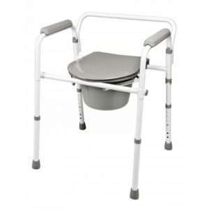 Graham Field Commode Folding Steel – Retail