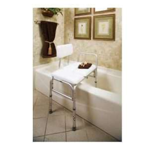 Carex Deluxe Padded Transfer Bench