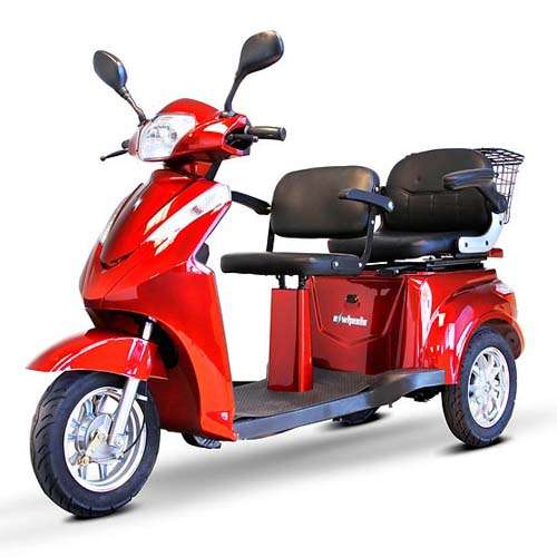 E-Wheels EW-66 Two Passenger Scooter
