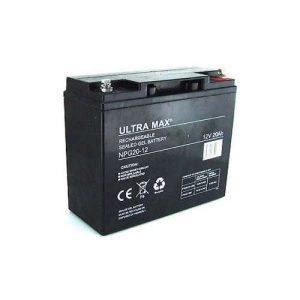 2 Batteries for CityCruzer, SNR Models (SLA) 20 Ah – Sold As Pair