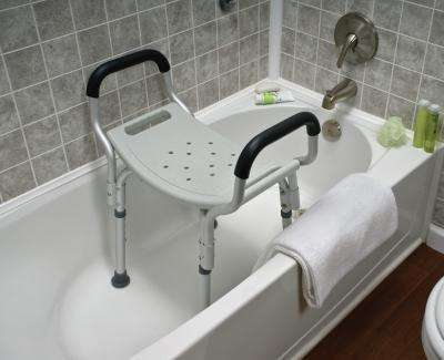 Types of Bathroom and Shower Chairs for the Elderly
