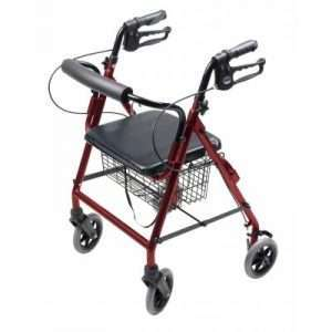 Graham Field Walkabout Four-Wheel Hemi Rollator