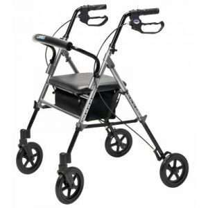 Graham Field Set n' Go Wide Height Adjustable Rollator