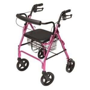 Graham Field Walkabout Four-Wheel Contour Deluxe Rollator