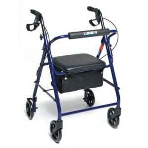 Graham Field Walkabout Basic Four-Wheel Rollator