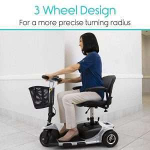 Vive Health 3-Wheel Mobility Scooter