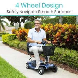 Vive Health 4-Wheel Mobility Scooter
