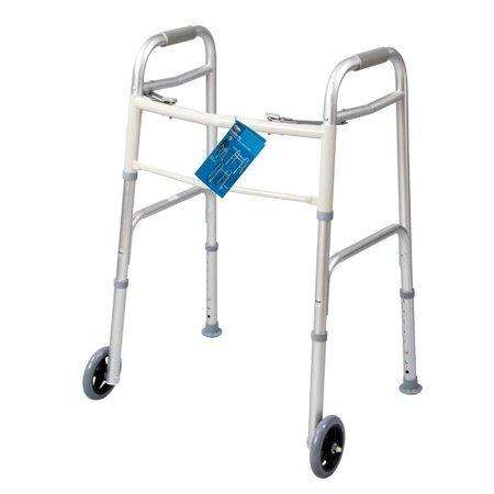 Carex Dual Button Mobility Walker