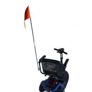 E Wheels Flag with Mounting Hardware