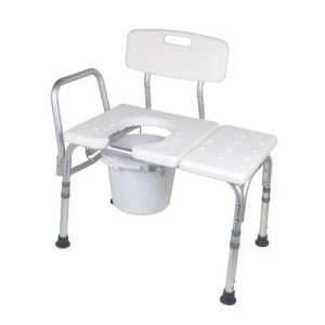 Carex Bathtub Transfer Bench With Opening & Bucket