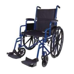 Carex Classics Foldable Manual Wheelchair