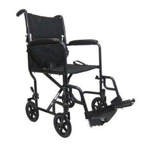 Ultra-Lightweight Aluminum Transport Manual Wheelchair