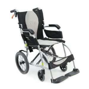 Ergo Lite Ultra Lightweight Ergonomic Transport Manual Wheelchair