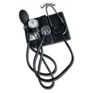 Home Blood Pressure Kit with Attached Stethoscope, Adult