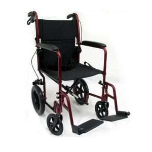 LT-1000 Lightweight Transport Manual Wheelchair