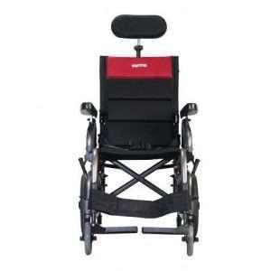 VIP2-TR Tilt-In-Space Reclining Transport Manual Wheelchair
