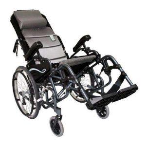 VIP-515 Tilt in Space Lightweight Reclining Foldable Manual Wheelchair