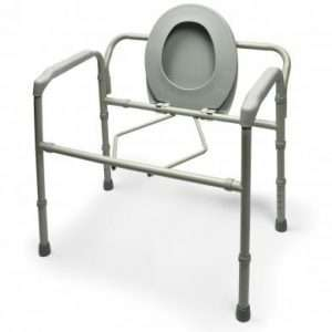 Bariatric Steel Folding Commode