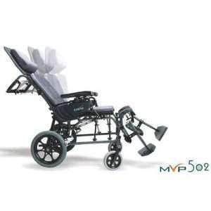 Karman MVP-502 Self Propel Ergonomic MVP Reclining Transport Chair